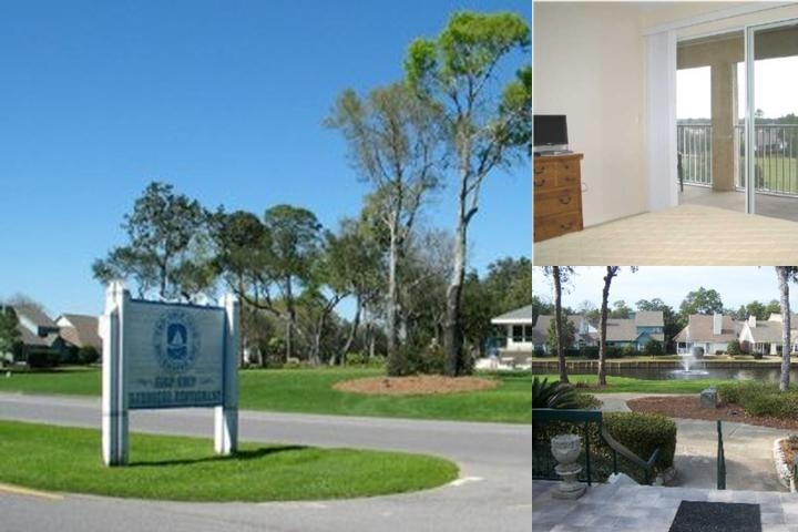 Bluewater Bay Resort photo collage