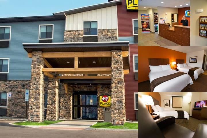 My Place Hotel Sioux Falls Sd photo collage
