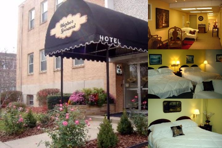 Higher Ground Hotel photo collage