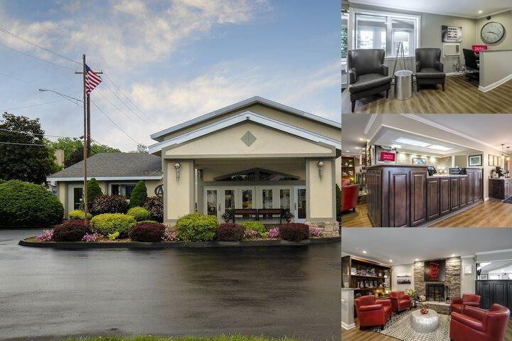 Red Roof Inn & Suites Herkimer photo collage
