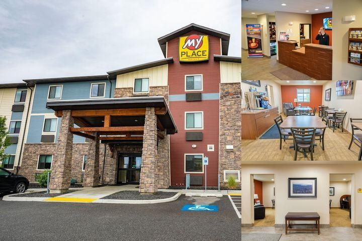 My Place Hotel Spokane Wa photo collage