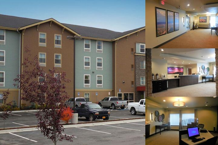 Ledgestone Hotel Elko photo collage