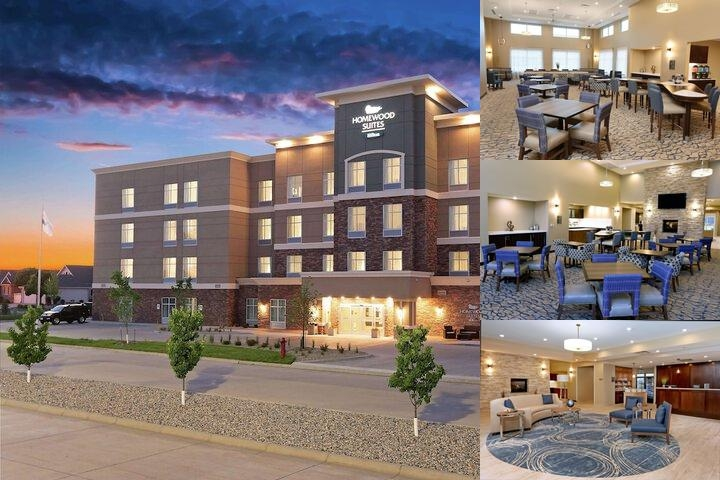 Homewood Suites by Hilton West Fargo Sanford Medical Center Area photo collage