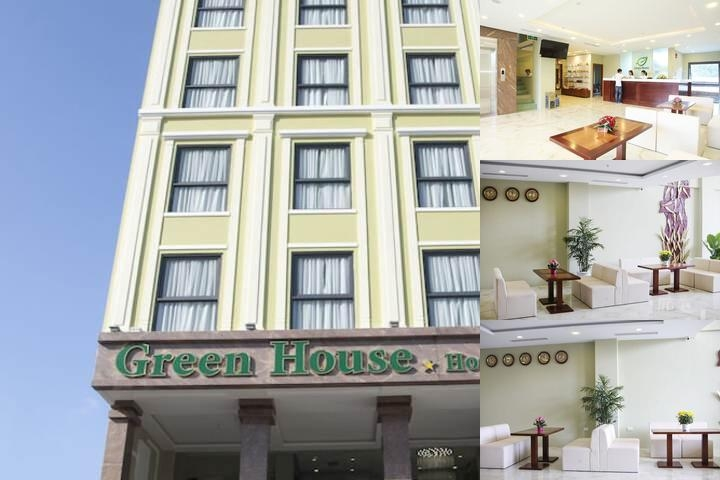 Green House Hotel photo collage