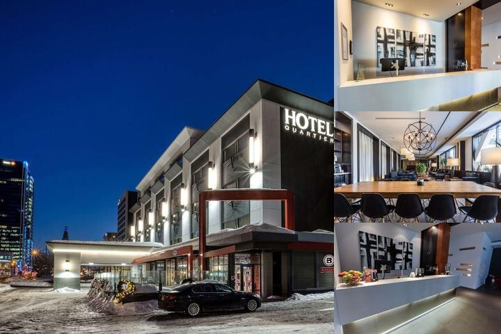 Hotel Quartier photo collage