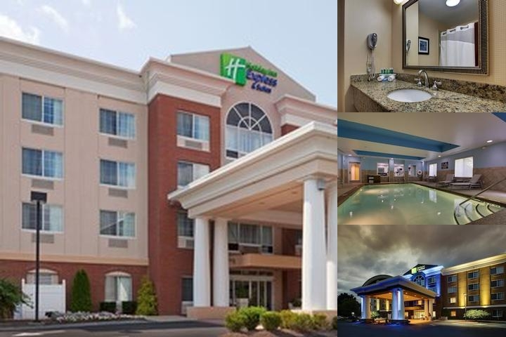 Holiday Inn Express Hotel & Suites Middleboro / Raynham photo collage