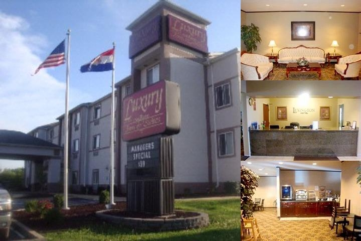 Luxury Inn & Suites photo collage
