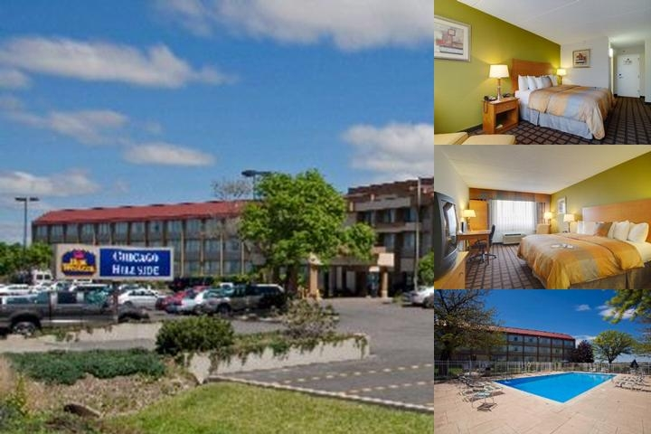 Best Western Plus Chicago Hillside photo collage