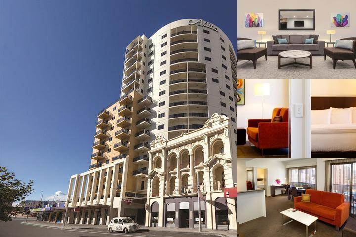 Adina Apartment Hotel Perth Barrack Plaza photo collage