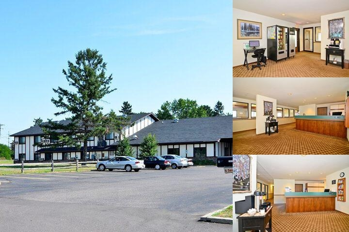 Amerivu Inn & Suites Hayward photo collage