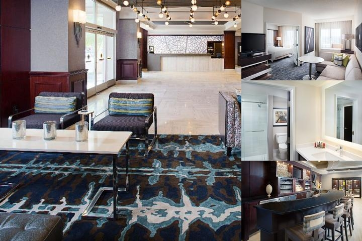Dallas Marriott Suites photo collage