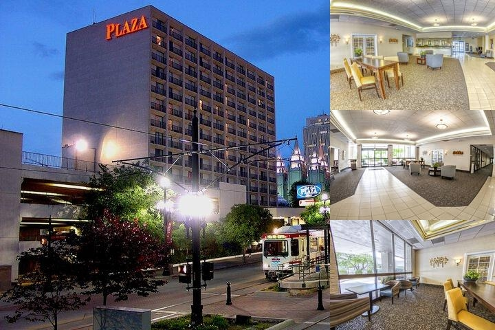 Salt Lake Plaza Hotel at Temple Square photo collage