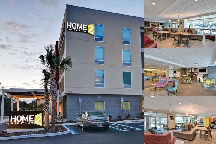 Home2 Suites by Hilton Tampa Usf Near Busch Gardens photo collage