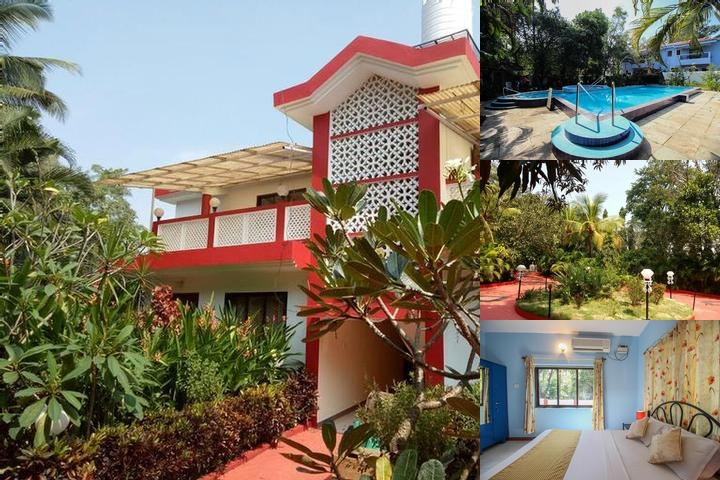 Tranquil Villa photo collage