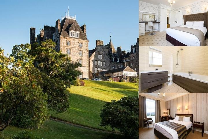 Atholl Palace Hotel photo collage
