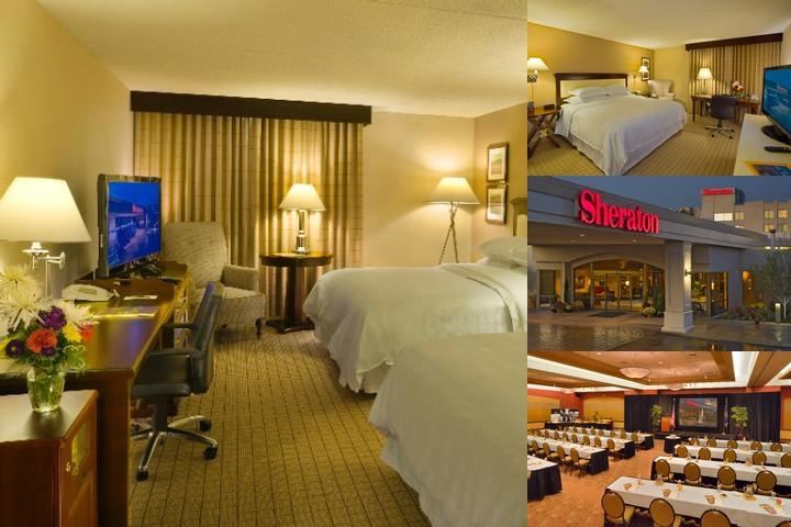 Sheraton Portland Airport photo collage