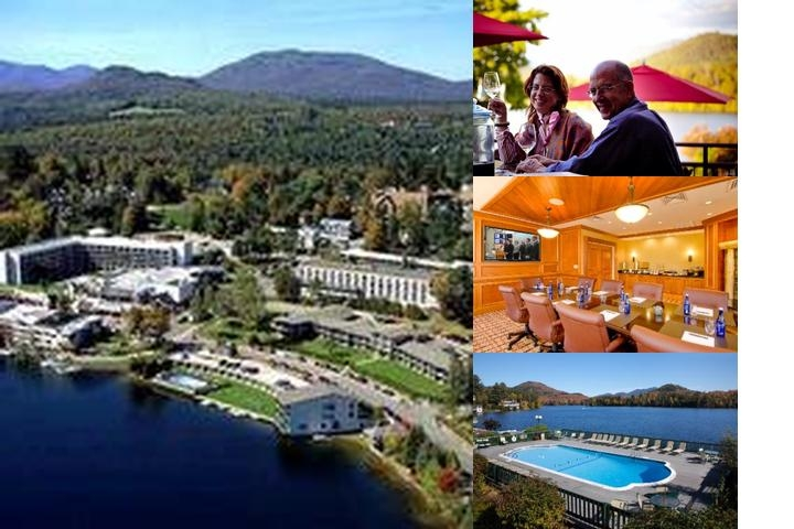 Hilton Lake Placid Resort photo collage