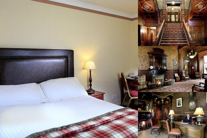 Macdonald Norwood Hall Hotel photo collage
