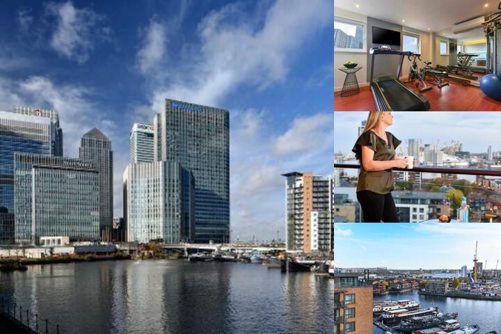 Fraser Place Canary Wharf photo collage