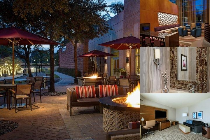 The Woodlands Waterway Marriott Hotel photo collage
