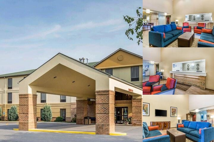Comfort Inn Duncansville photo collage