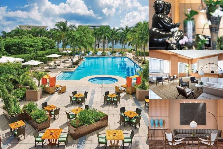 Four Seasons Hotel Miami photo collage