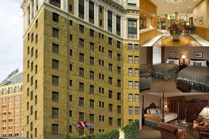 The Saint Paul Hotel photo collage