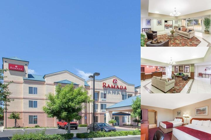 Ramada Fresno Northwest photo collage