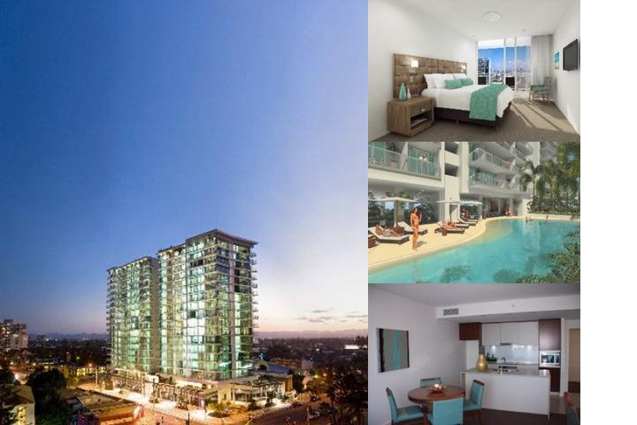 Wyndham Surfers Paradise photo collage
