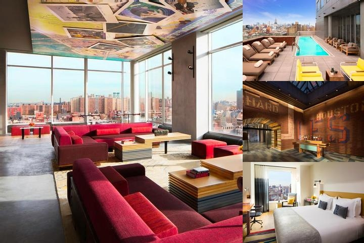 Hotel Indigo Lower East Side New York photo collage