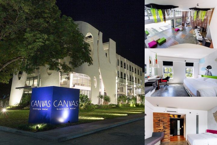 Canvas Boutique Hotel photo collage