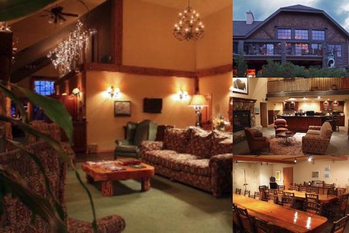 Mountain Lake Lodge photo collage