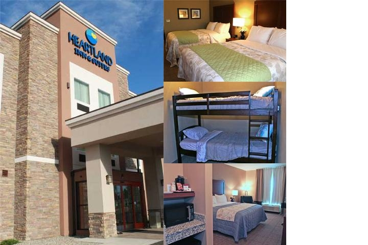 Heartland Inn & Suites photo collage