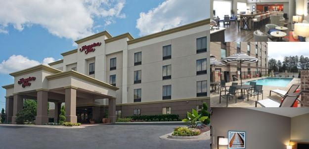Hampton Inn Forsyth photo collage