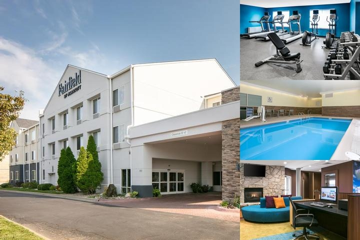 Fairfield Inn Manhattan Kansas photo collage