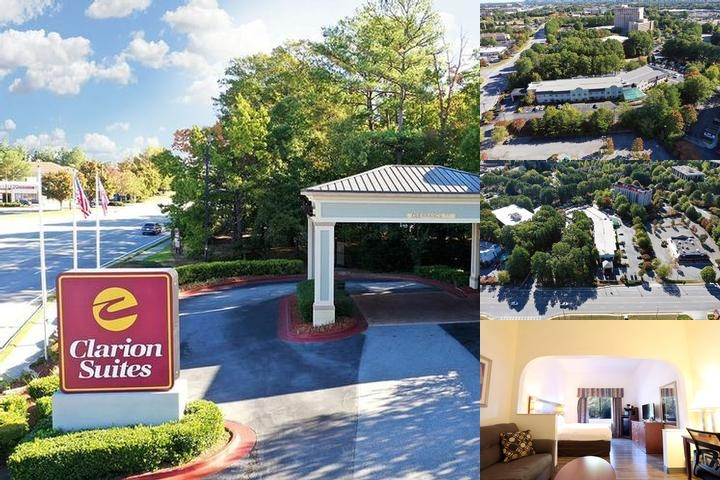 Comfort Suites Gwinnett Place photo collage