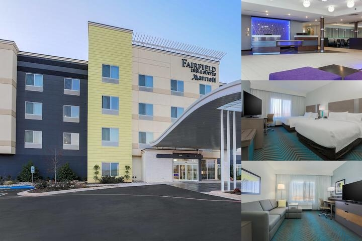 Faifield Inn & Suites Marriott photo collage