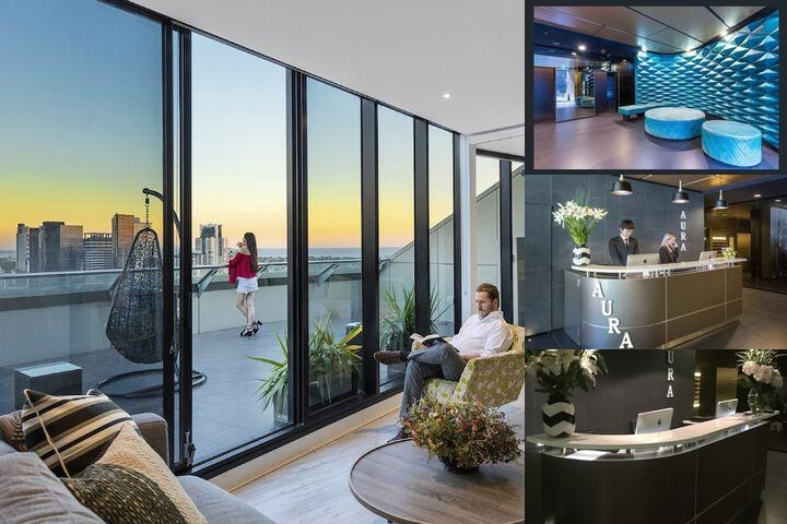 Aura on Flinders Serviced Apartments photo collage