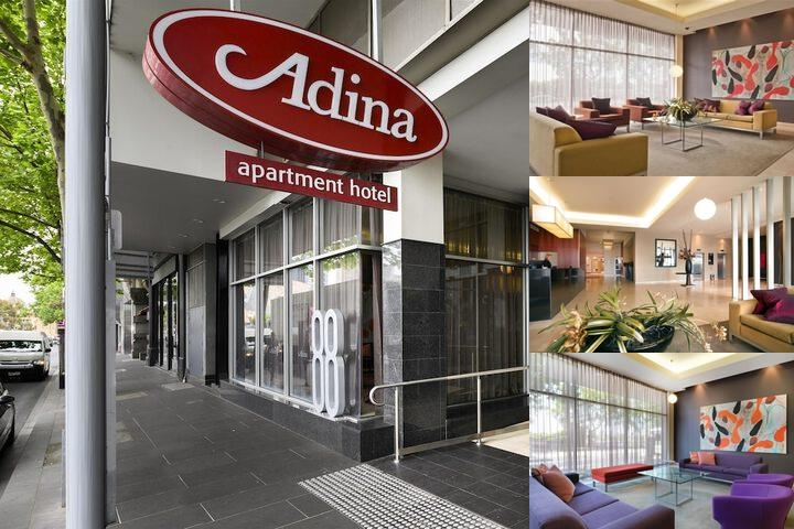 Adina Apartment Hotel Melbourne Flinders Street photo collage