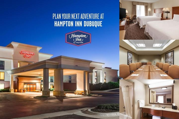 Hampton Inn Dubuque photo collage