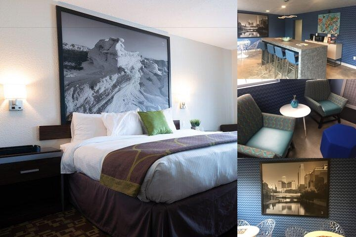402 Hotel photo collage