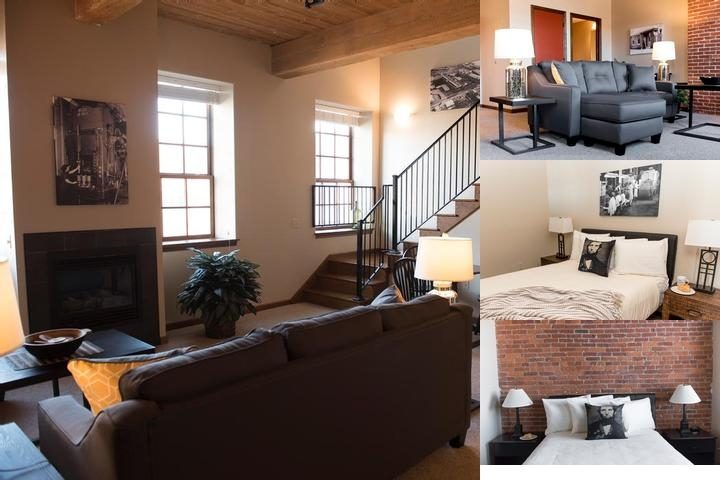 Lancaster's Extended Stay Apartments at Urban Place photo collage