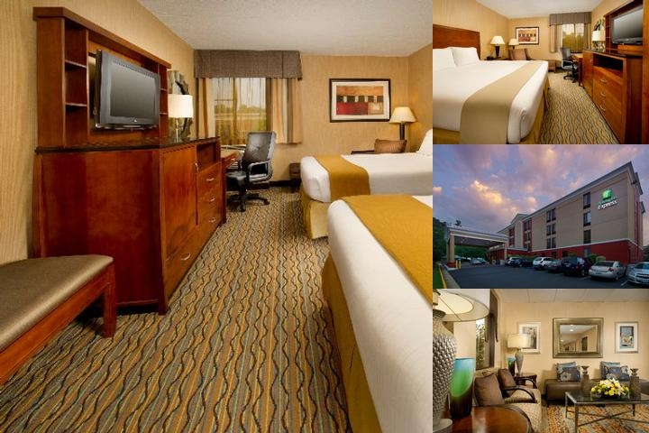 Holiday Inn Express Fairfax photo collage