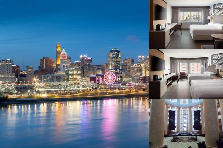 Marriott Cincinnati Rivercenter photo collage