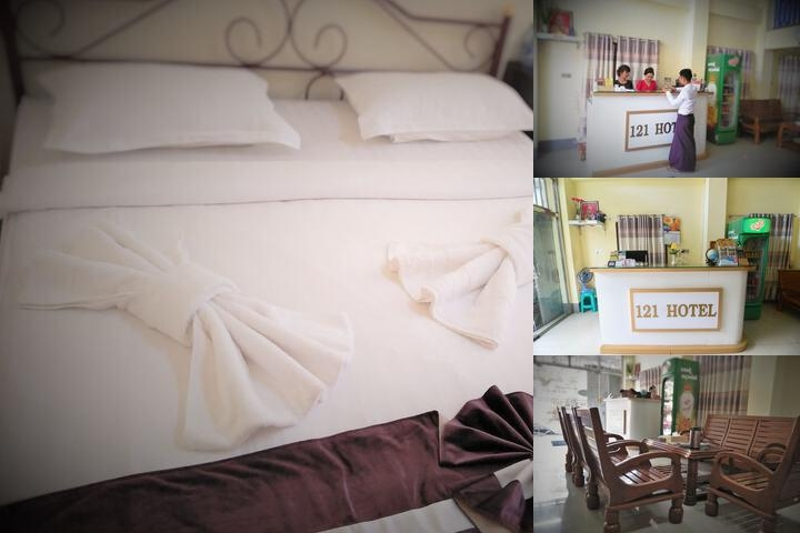 121 Hotel photo collage