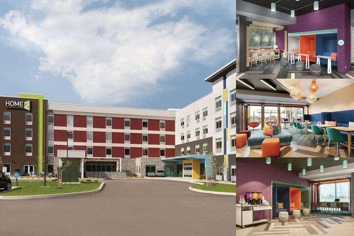 Home2 Suites by Hilton Williamsville Buffalo Airport photo collage