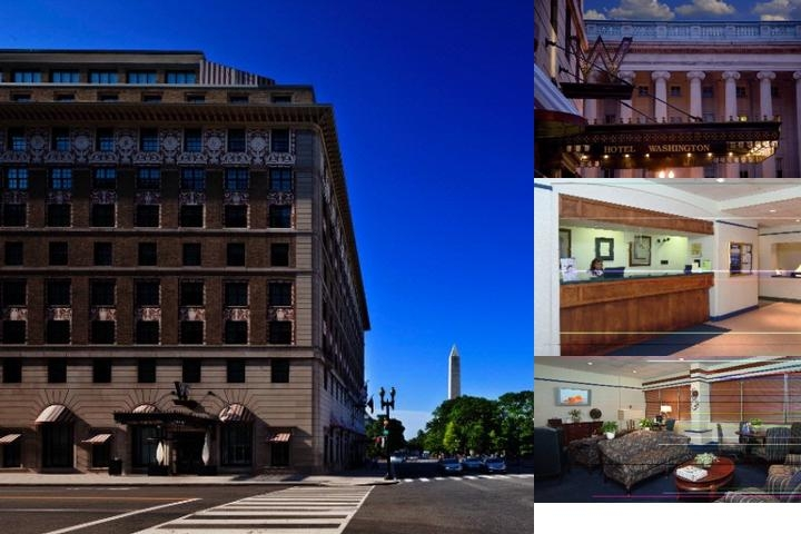 Hotel Washington photo collage