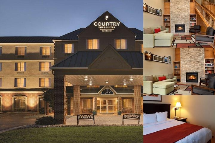 Country Inn & Suites Front Entrance With Protective Canopy