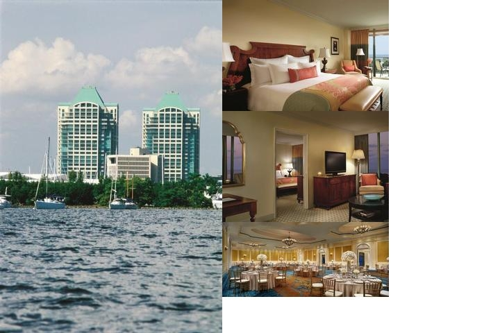 Ritz Carlton Coconut Grove photo collage