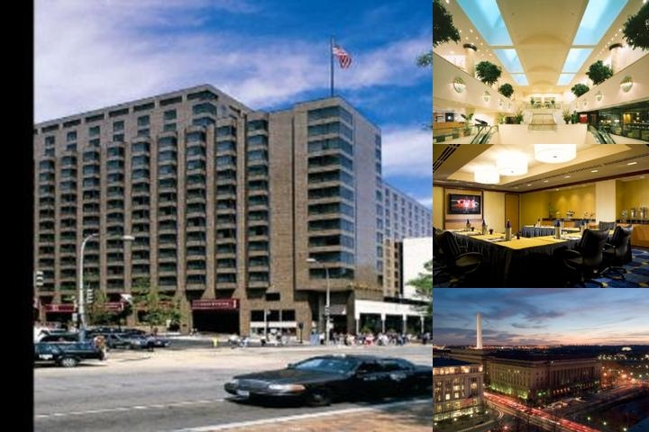 JW Marriott Washington Dc photo collage